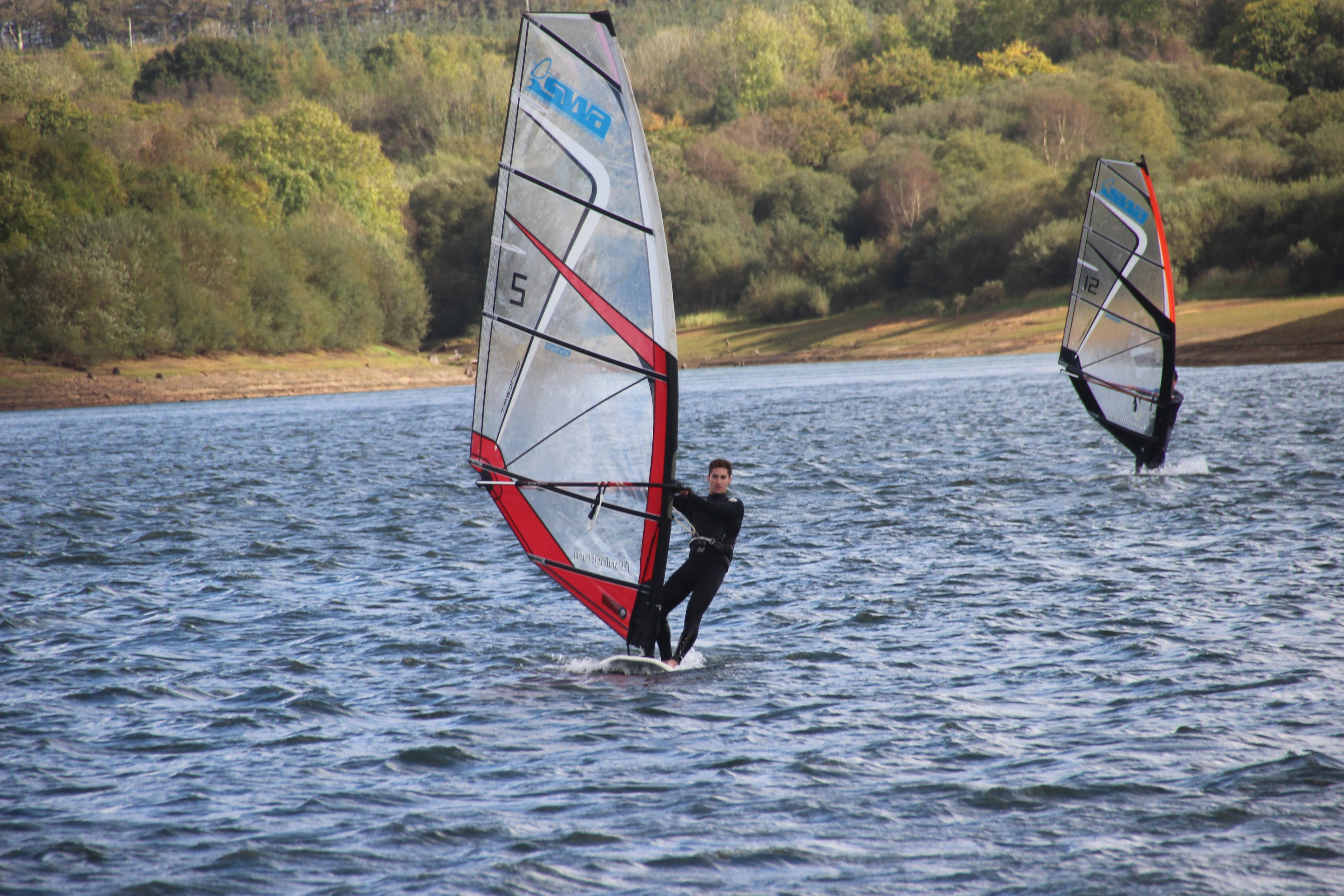 Windsurfers at AK last year